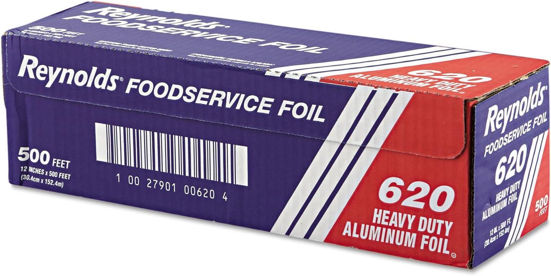 RFP Kansas City Quantity limited Mall Heavy Duty Aluminum Foil Roll Silver 620 12quot; ft 500 x
