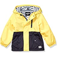 Boys' Midweight Fleece Lined Windbreaker Jacket