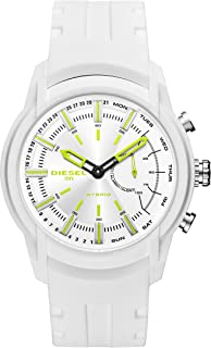 On Men's Armbar Silicone Hybrid Smartwatch - Activity Tracker Compatible with Android and iOS Phones