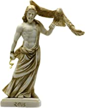 Zeus Greek Roman God King Olympian Statue Sculpture figure 6.3in - 16cm