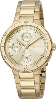 ساعة كوارتز كرونوغراف عصرية للنساء من اسبريت- ES1L226M0025