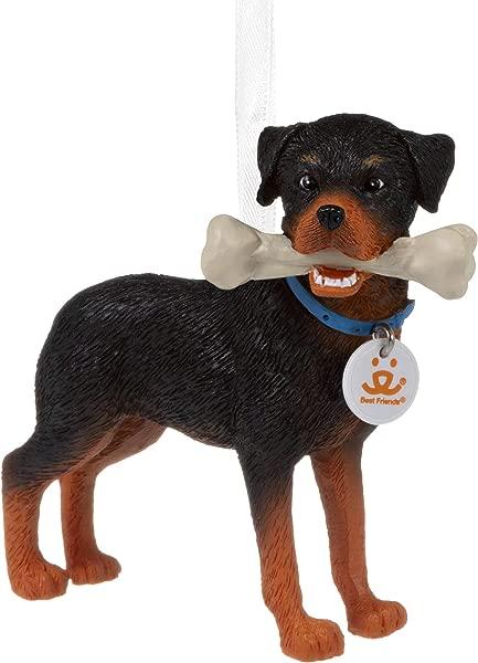 Hallmark Christmas Ornaments Rottweiler Dog Ornament