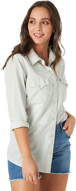 Wrangler Women's shipfree Western Snap List price Shirt