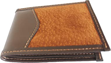 Capybara Carpincho Mens Wallet Exclusive Argentine Leather ID Brown