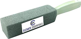 Elevate Essentials Pumice Stone Scouring Stick Toilet Bowl Ring Remover with Handle (1 Pack)