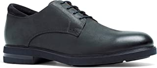 Anthony Veer Men's Calvin Hybrid Leather Suede Lightweight Comfort Lace-up Dress Shoe