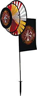 In the Breeze Fire Rescue Dual Spinner Wheels with Flag