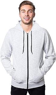 Men's Fleece Hoodie Full Zip Active Hooded Sweatshirt