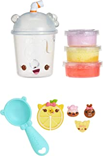 Num Noms Snackables Silly Shakes - Strawberry Lemonade Smoothie Slime, Multicolor