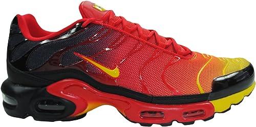 Nike Air Max Plus TXT TN Homme Baskets - université Rouge/Black ...