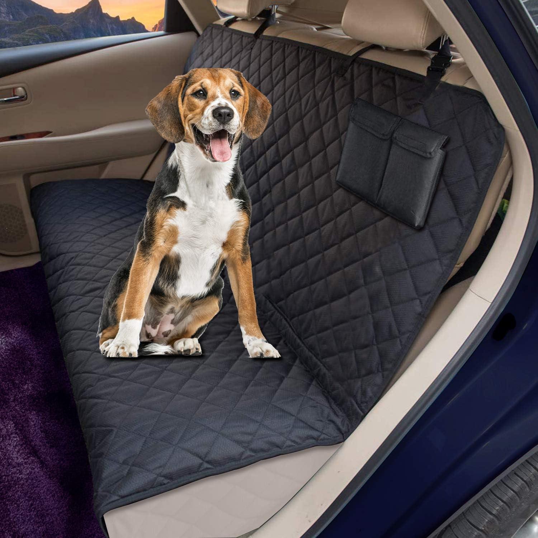 Chusstang Hundedecke Für Auto Rückbank Wasserdichte Hunde Autoschondecke Hundedecke Kofferraum Rutschfest Für Komplett Abgedeckt Haustier Autositz Umfassen Ein Autoschondecke Hund Rücksitz Haustier