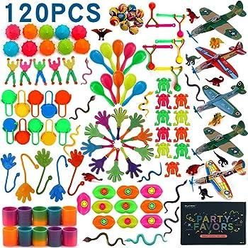 Jolintek 100PCS Assortimenti di Giocattoli per Bambini