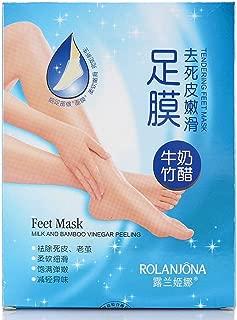 milk bamboo vinegar foot mask