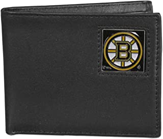 Siskiyou NHL Leather Bi-Fold Wallet Packaged in Gift Box