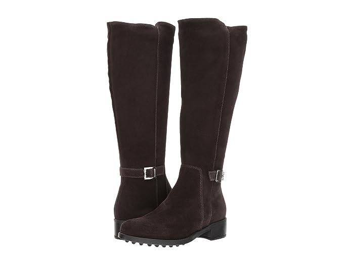 La Canadienne Silvana (Espresso Suede) Women's Boots