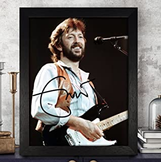 Eric Clapton Signed Autographed Photo 8X10 Reprint Rp Pp - Unplugged