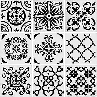 decorative wall stencil kit