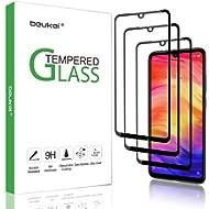 (3 Pack) Beukei for Xiaomi Redmi Note 7 / Redmi Note 7 Pro Tempered Glass Screen Protector (6.3...