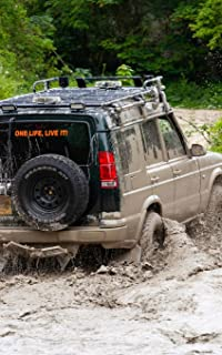 Notebook: Off Road 4 x 4 Four Wheel Driving Drive 5