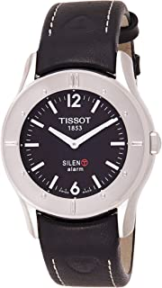 Tissot T Touch Silen-T for Men - Analog Leather Band Watch - T40.1.426.51