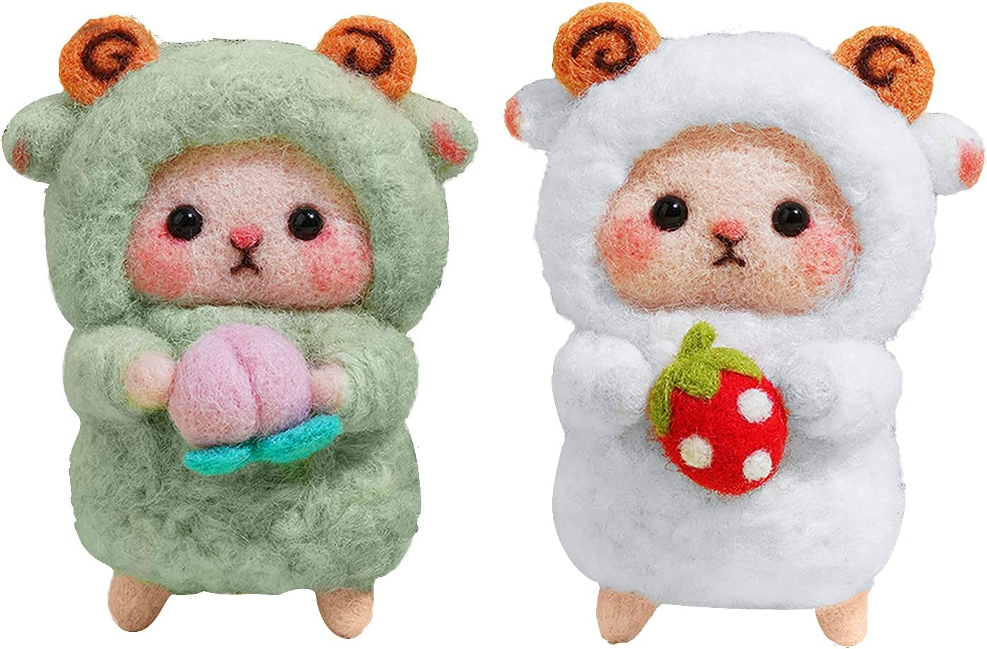 2 Outlet sale feature Set Animal Wool Needle Felting Direct stock discount for Beginner Kit Complete Needl