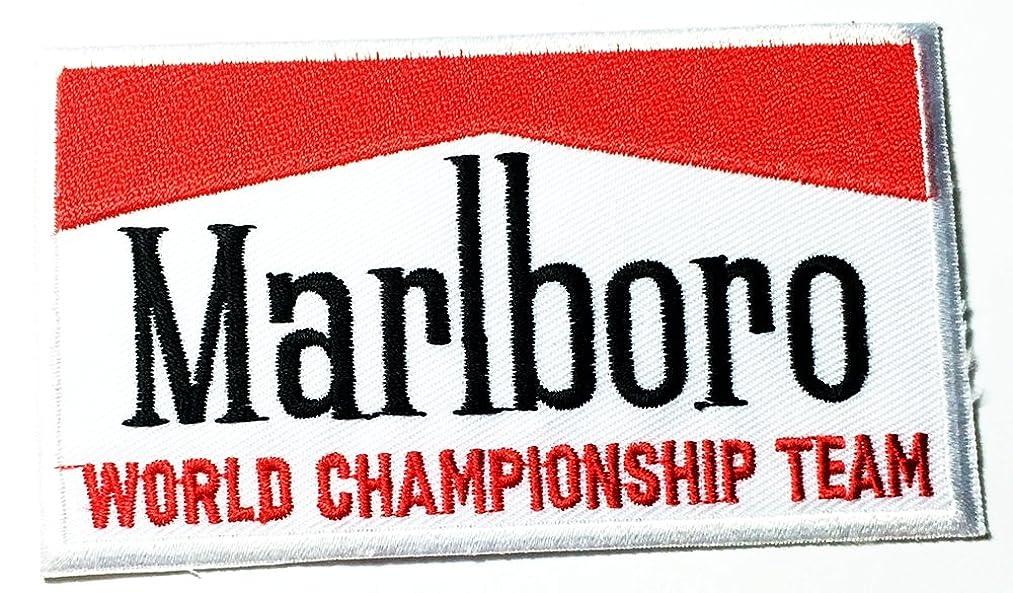 Ferrari Mariboro Sports Cars Motorsport Racing logo patch Jacket T-shirt Sew Iron on Patch Badge Embroidery