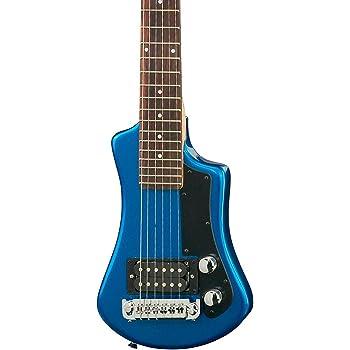 Höfner HCT - Chitarra Shorty, blu