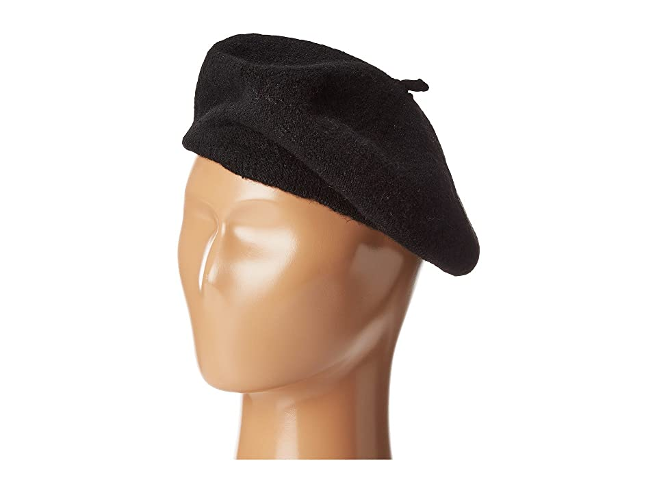 1960s – 70s Style Men's Hats Hat Attack Wool Beret Black Berets $32.00 AT vintagedancer.com