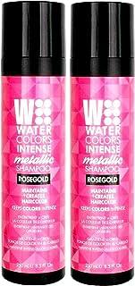 Intense Metallic Watercolors Rose Gold Hair Shampoo 8.5 Oz (2 Pack)