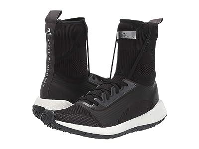 adidas by Stella McCartney UltraBoost HD (Black/White/Utility Black/Iron Metallic) Women