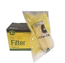 John Deere Original Equipment Fuel and Oil Filter M806418/M801101 Kit