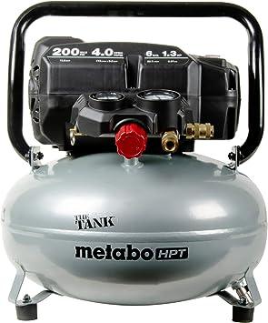 "Metabo HPT ""THE TANK"" Pancake Air Compressor, 200 PSI, 6 Gallon (EC914S): image"
