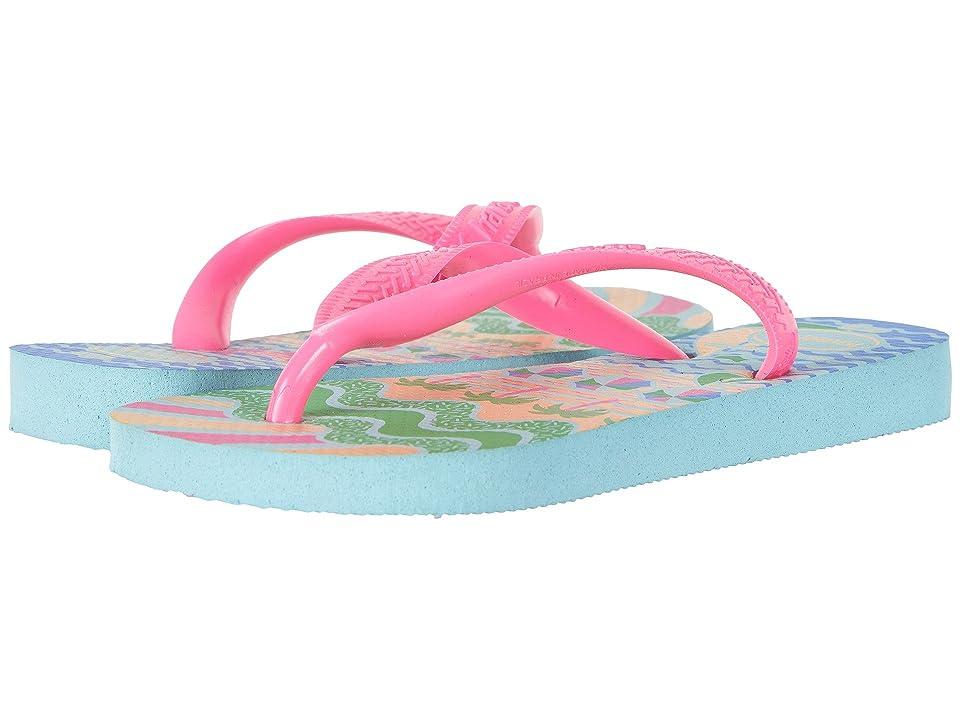 Havaianas Kids Fantasy Flip Flops (Toddler/Little Kid/Big Kid) (Ice Blue) Girls Shoes
