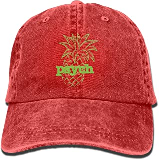 CHUFZSD Psych Pineapple Washing Cap Baseball Sport Adjustable Denim Cowboy Caps
