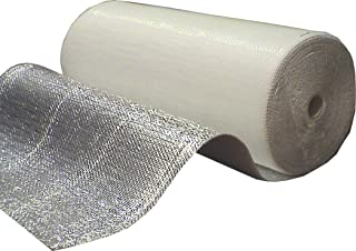 Optimer System - Aislamiento Termico Aluminio Reflexivo multicapa de burbujas de aire - Rollo aislante termico de 42 m² p...