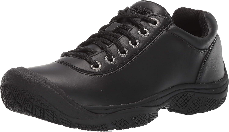 KEEN Utility Men's PTC Dress Oxford Low Height Non Slip Chef Food Service Shoe