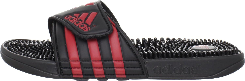 adidas Mens Adissage Sandal Run White/Graphite/Run White