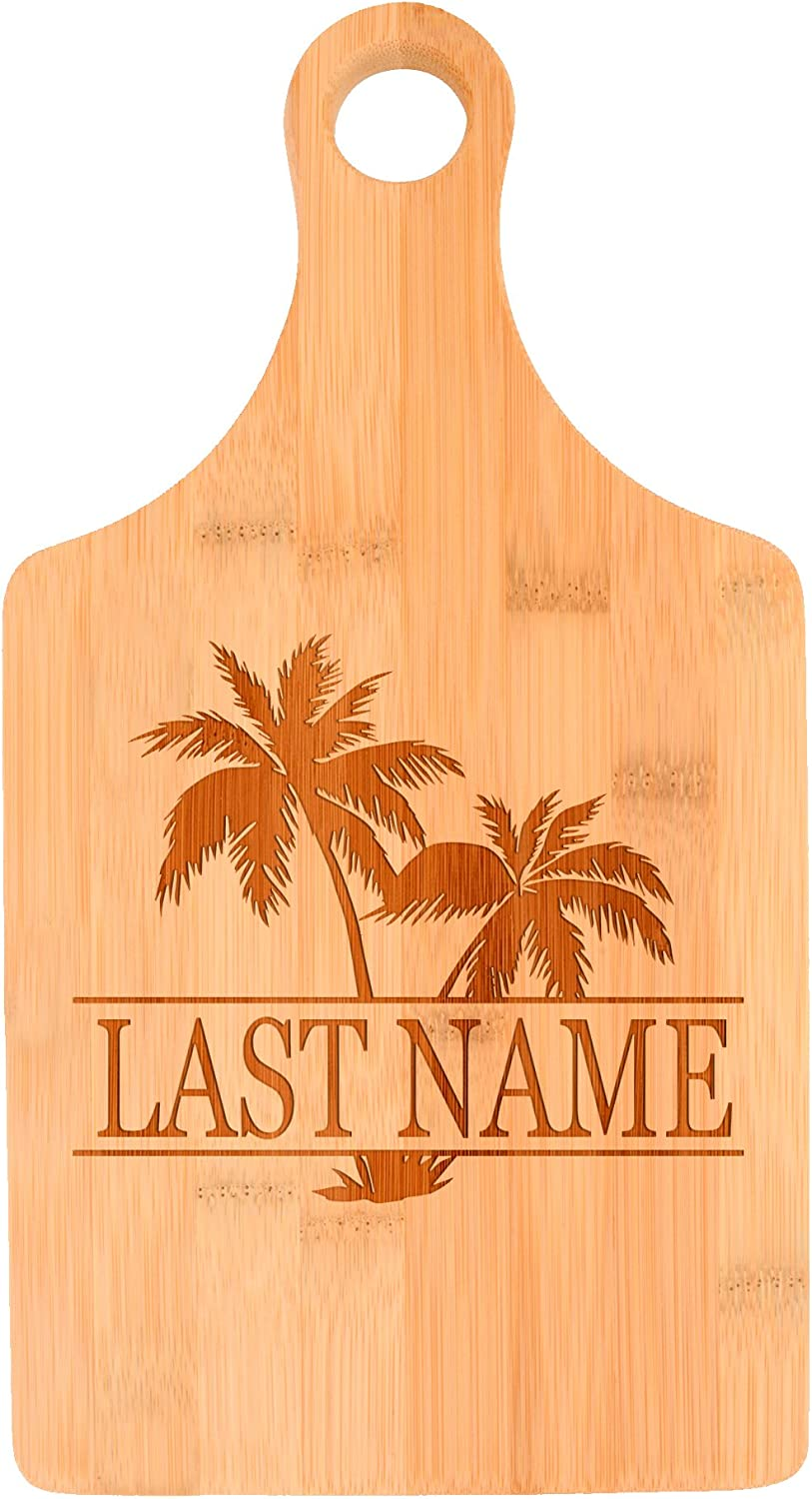 Customized Last Name San Francisco Mall Palm Tree Max 58% OFF P Beach Personalized Gift Wedding