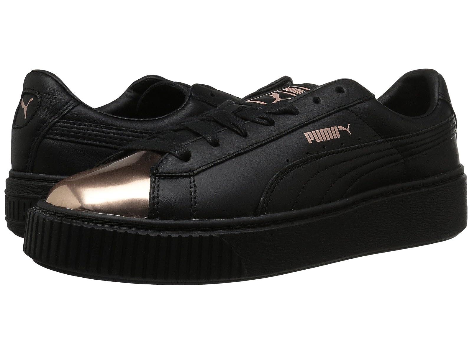 PUMA Basket Platform MetallicCheap and distinctive eye-catching shoes