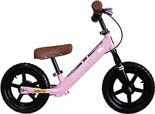 London Taxi キックバイク スチール製 12型 足こぎ自転車 ※リアブレーキ標準装備