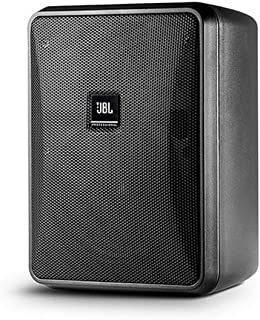 JBL Professional Compact 8-Ohm Indoor/Outdoor Background/Foreground Speaker, Black (Sold as Pair) (Control 25-1L)