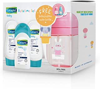 Cetaphil Baby Bath & Wash Twin Pack with Shampoo and FREE Bottle, 660 milliliters