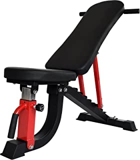 BARWING(バーウィング) デクラインベンチ インクラインベンチ フラットベンチ ダンベル シットアップベンチ トレーニング ベンチ ベンチプレス ホームジム マルチポジションベンチ トレーニングマシン