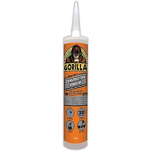 6feab283fa8ed Gorilla Heavy Duty Construction Adhesive
