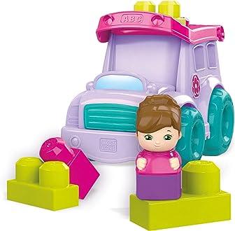 Mega Bloks La Parade de LEl/éphant violet FFY14 jouet pour b/éb/é et enfant de 1 /à 5 ans briques et jeu de construction 25 pi/èces