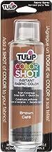 tulip color shot brown