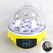 para hasta 18 Huevos de Gallina PEDY Incubadora de Pollos con Criador de Motor con Pantalla LED de Temperatura y Sensor de Temperatura Preciso Control de Temperatura y Humedad Incubadora Autom/ática
