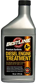 BestLine 853796001429 Premium Synthetic Diesel Engine Treatment - 16 oz.