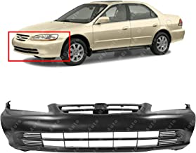 BUMPERS THAT DELIVER - Primered, Front Bumper Cover Fascia for 2001 2002 Honda Accord Sedan 01 02, HO1000196