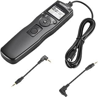 Neewer Temporizador de Liberación del Obturador Cable de Control Remoto Compatible con Canon EOS 550D Rebel T2i 450D Xsi 400D Xti 350D XT 300D 60D 600D 500D 1100D 1000D 10D 20D 30D 40D 50D